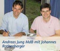 Andreas Jung MdB mit Johannes Rothenberger