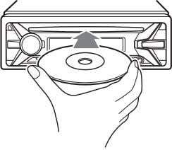 Playback Playing a Disc 1 Insert the disc (label side up). Playback starts automatically. Playing a