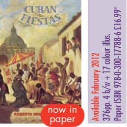 now in paper Available February 2012 376pp. 4 b/w + 17 colour illus. Paper ISBN