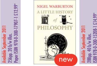 new Available September 2011 256pp. 20 b/w illus. Paper ISBN 978-0-300-17907-1 £12.99* Available September 2011
