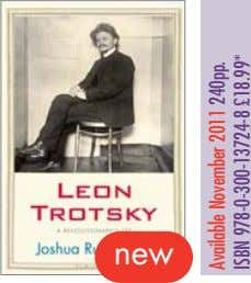 new Available November 2011 240pp. ISBN 978-0-300-13724-8 £18.99*