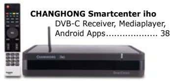CHANGHONG Smartcenter iho DVB-C Receiver, Mediaplayer, Android Apps 38