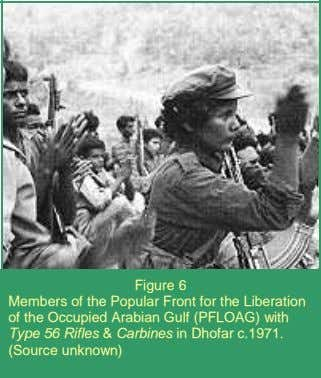 Figure 6 Members of the Popular Front for the Liberation of the Occupied Arabian Gulf