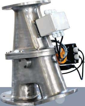 Flapper Diverter Valve Application : Features : User friendly design. Flapper to cover the full area