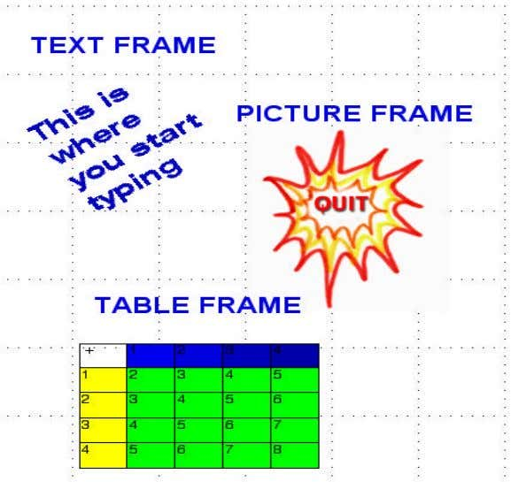 enter a frame to edit, double-click the frame with the arrow. Page 12 CSLP — Desktop