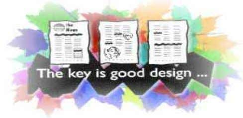 design New graphics New font and typography Apply what you have learned about desktop publishing into