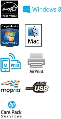 or HP Managed Print Services, visit hp.com/go/printservices Top Features Shift your office into high gear with