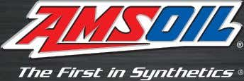 the oil change interval that fits your lifestyle and comfort zone. Online Store: www.amsoil.com Telephone: 1-800-777-7094