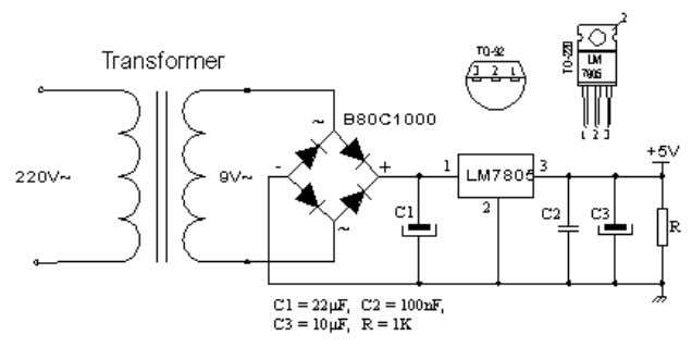 Basic for PIC Microcontrollers 8 The oscillator of the microcontroller can be a 4MHz crystal and