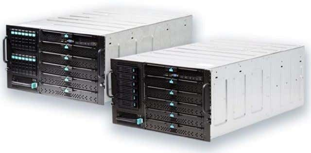 14TB). A second integrated networked switch is also added. Figure 1-11. High Density Modular Server (courtesy