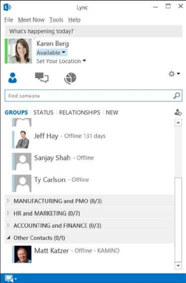 Figure 2-28. Lync video conferencing and IM tool Chapter 2 ■ Using OffiCe 365 and