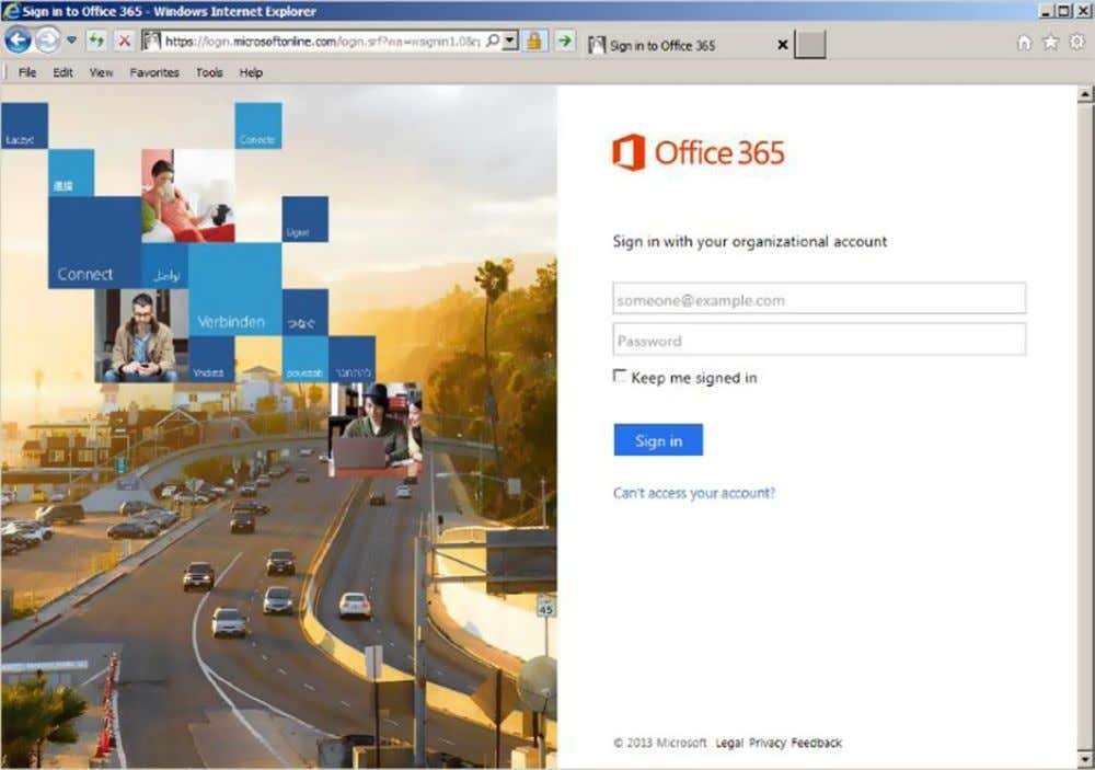 Chapter 3 ■ OffiCe 365 planning and purChase Figure 3-6. Office 365 sign-in screen Passwords are