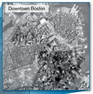 JAMES R. WEY Downtown Boston 250 Mpix aerial thermal image FIGURE 1. A high-resolution, 250-megapixel, long-wave