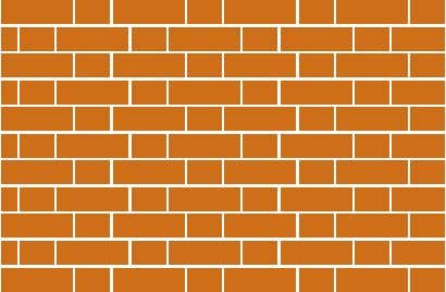 Flemish Bond Common Bond (Flemish every 6th Course) English Cross or Dutch Bond Stack Bond Garden