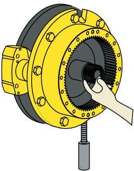 Half Shaft Special Tool End-Ply Wheel Hub Installer la roue Outils nécessaires : a) Dispositif d'installation