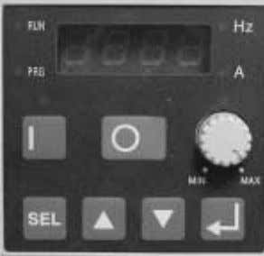to observe this precaution could result in severe bodily injury. Figure 3.1 Operator Interface Programming Keypad