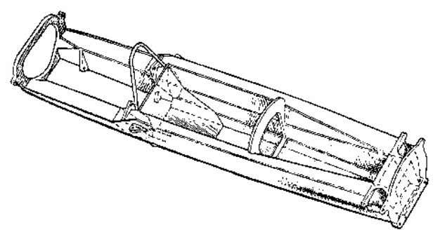 This is illustrated in Figure 2.7 by the Lotus 25 structure. Figure 2.7 - Monocoque Stressed