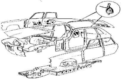 further stiffened and strengthened with stressed panels. Figure 2.8 - Composite Structure of Mass Produced Renault