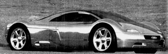 are the Pininfarina Ethos (Motor, 1992) and the Audi Avus (Chiton's Automotive Industries, 1992). Page 26