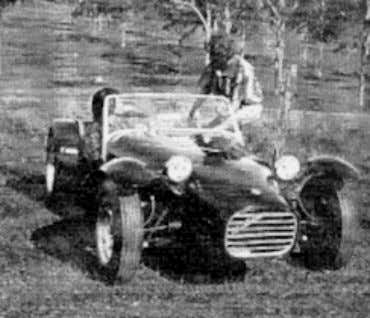 general information concerning the Westfield Sports Car is included in Appendix A. Figure 2.24 - Elfin