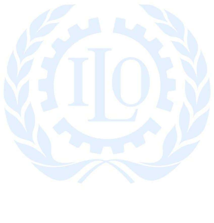 freedom, equity, security and human dignity. The ILO's Decent Work Agenda is centred on employment and