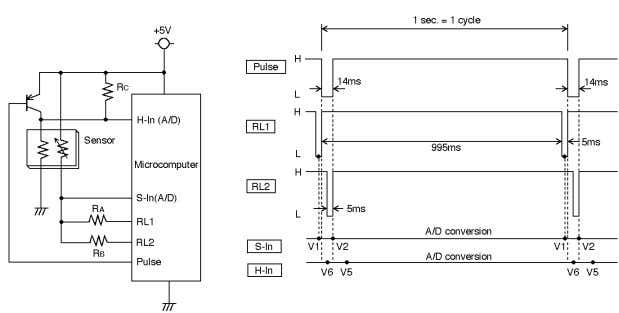TECHNICAL INFORMATION FOR TGS2442 5. Circuit Examples 5-1 Basic circuit including trouble detection Figure 22 -