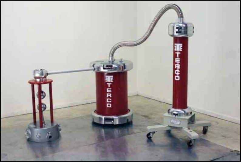High Voltage Modular Training Set HV 9000 PARTIAL DISCHARGE In the picture Measuring Spark Gap is