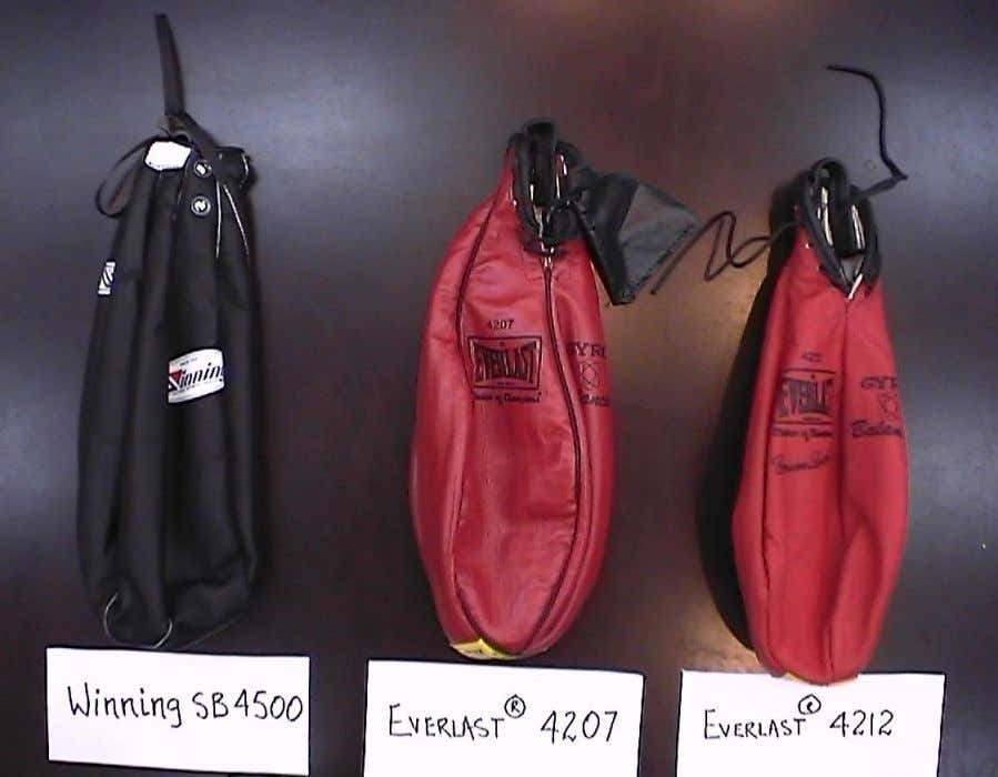 "Leather Bags for Lead Shot Bag Impactors JIS ""Soft"" Bag ANSI Z97-1 Bags"