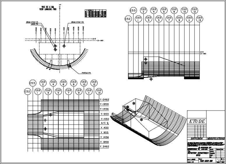 1 Sub-Section MG Sub-Section DP Sub-Section DEF Figure 35, Example of Sub-Section Master Geometry © AIRBUS