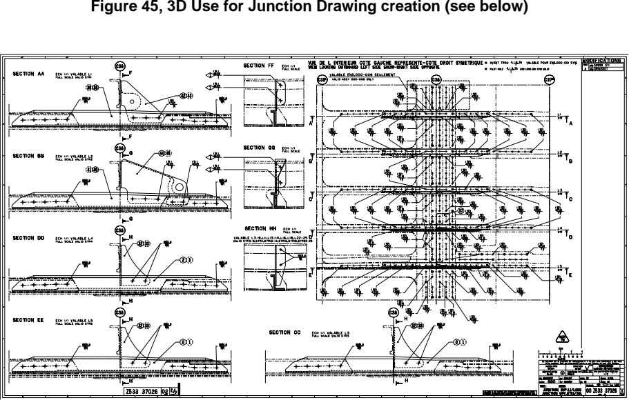 Figure 45, 3D Use for Junction Drawing creation (see below)