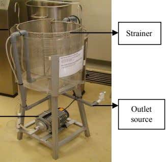 Strainer Outlet source