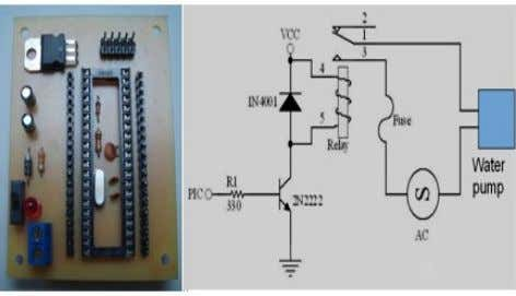 device which will be use for this alkaloid removal system. Figure 4. Controller and driver circuit