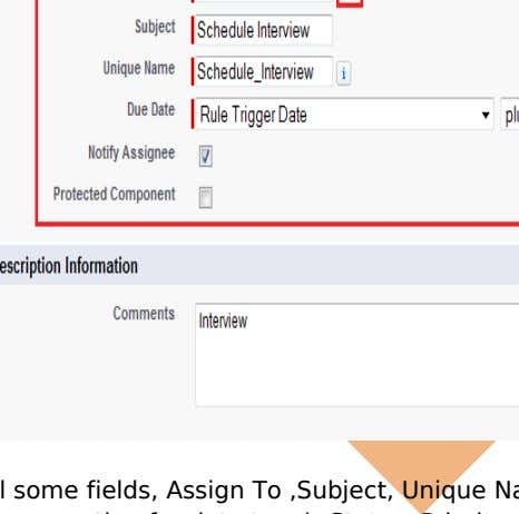 in available list. Note :- You can select multiple option. Fill some fields, Assign To ,Subject,