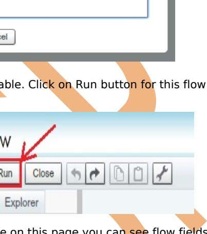 After that you can see Run button is Enable. Click on Run button for this