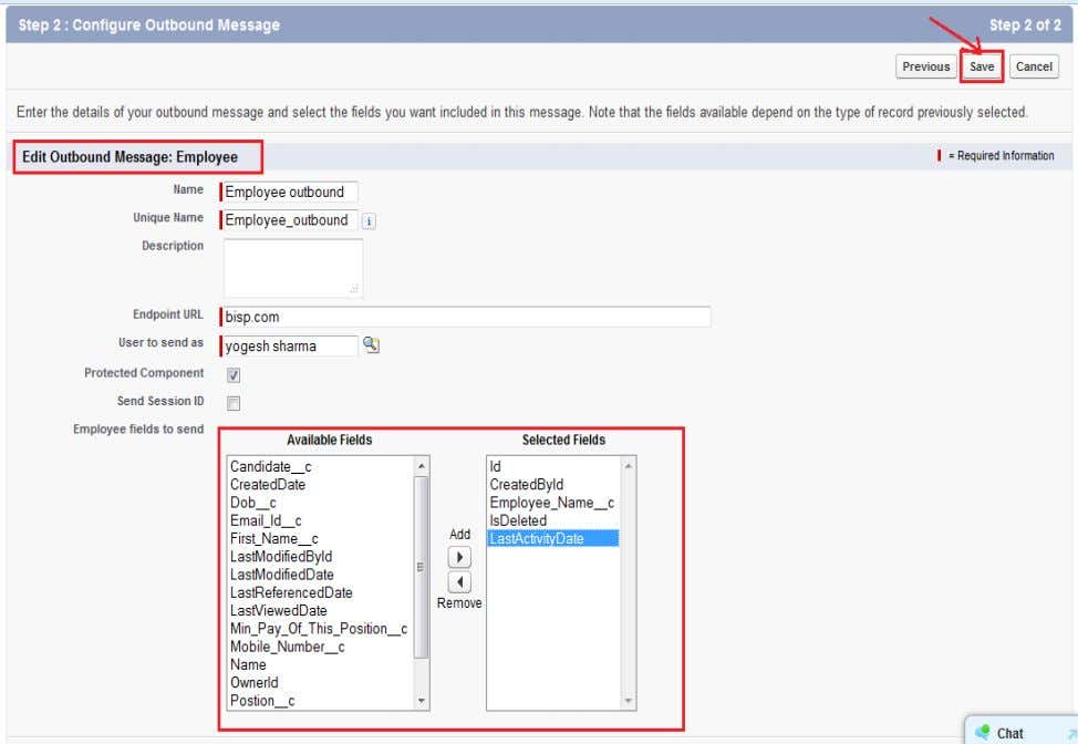 For checking View Message delivery Status click on View Message delivery Status button. Settings Step