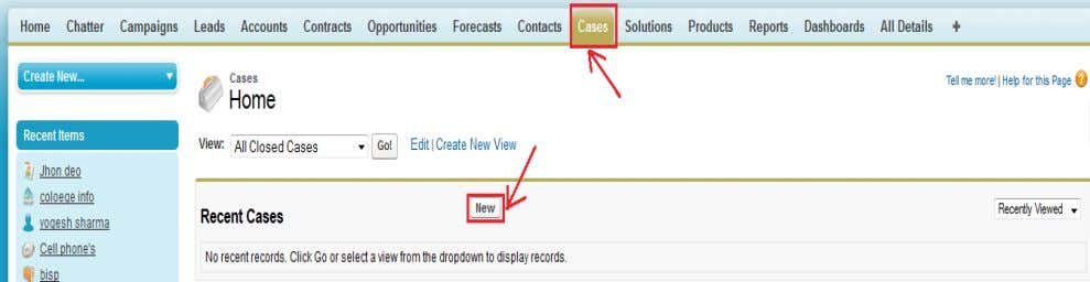 website and customer emails. How To Create Case : www.bispsolutions.com Page 36 www.bisptrainigs.com