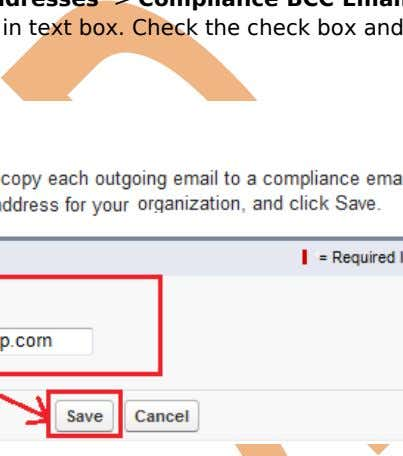 Check the check box and after that click on Save button.     Test