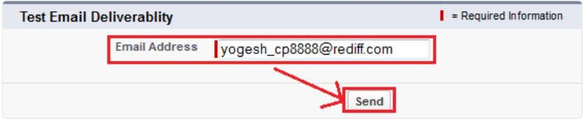 Write Email address on text box and click on Send button. www.bispsolutions.com Page 5 www.bisptrainigs.com