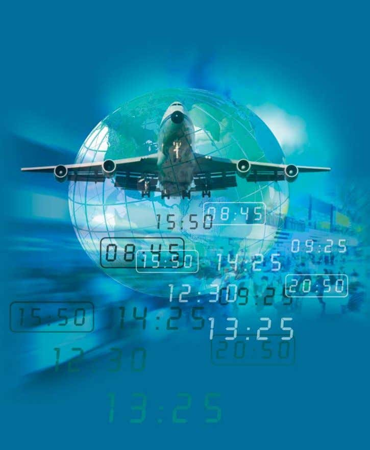 Worldwide Scheduling Guidelines 10th Edition Effective 1 July 2004 International Air Transport Association
