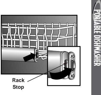 PORTABLE DISHWASHER Rack Stop