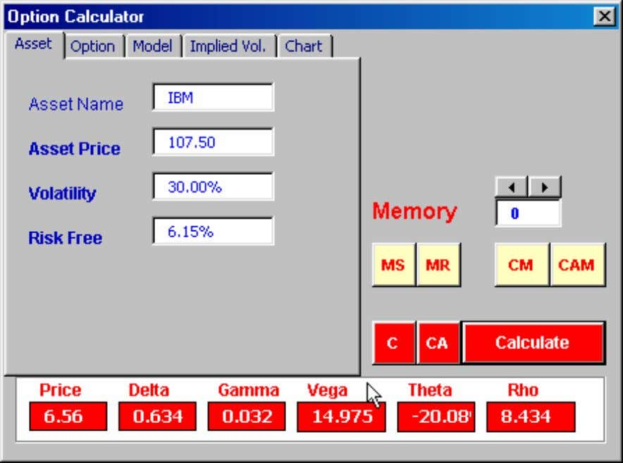 Option Calculator – Pricing Copyright © 2000-2006 Investment Analyt ics Option Valuation Slide: 26