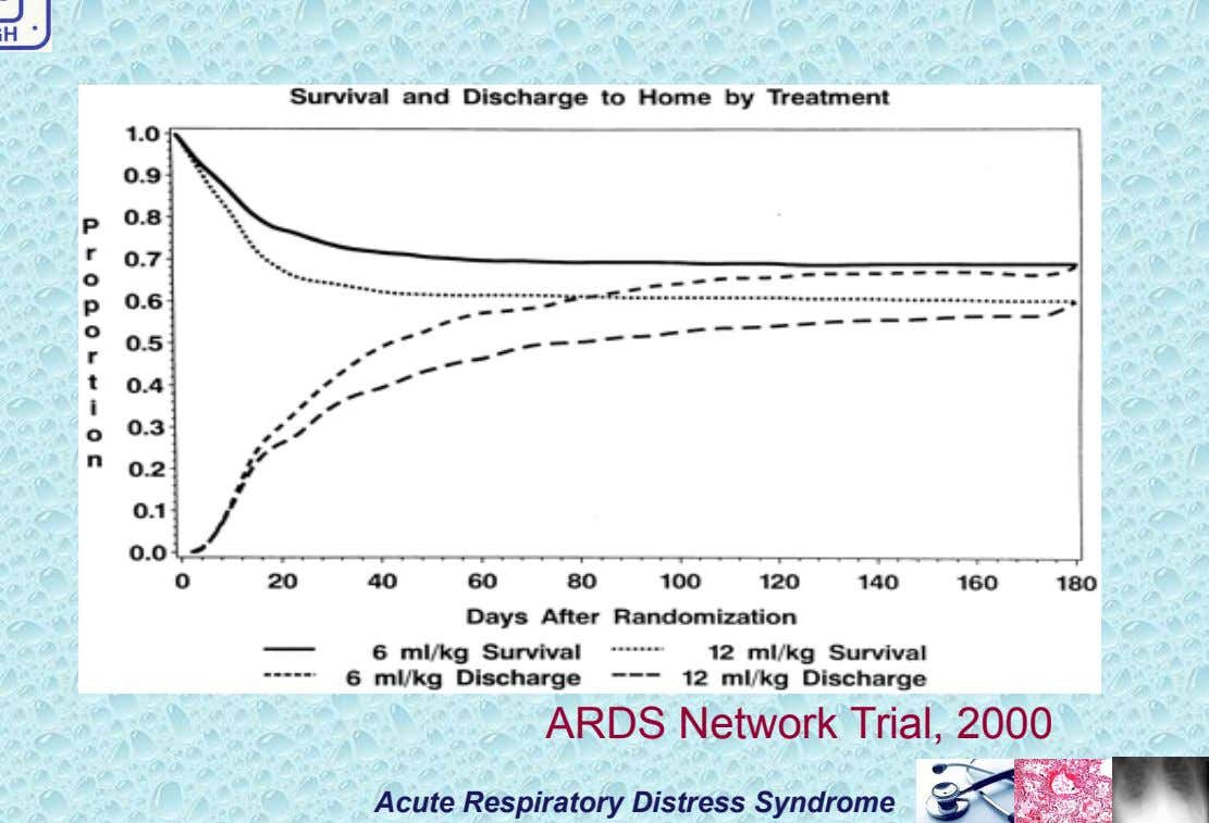 ARDS Network Trial, 2000 Acute Respiratory Distress Syndrome
