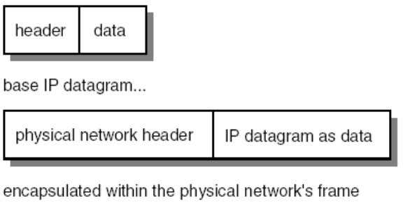 from packet to packet but the total length of the IP datagram should be within 65,535