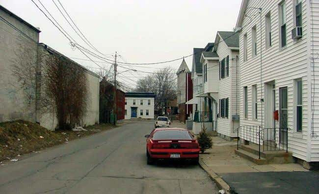 in Glenville was the focus of a 2003 master plan study. John Street, Schenectady Jumpin' Jack's