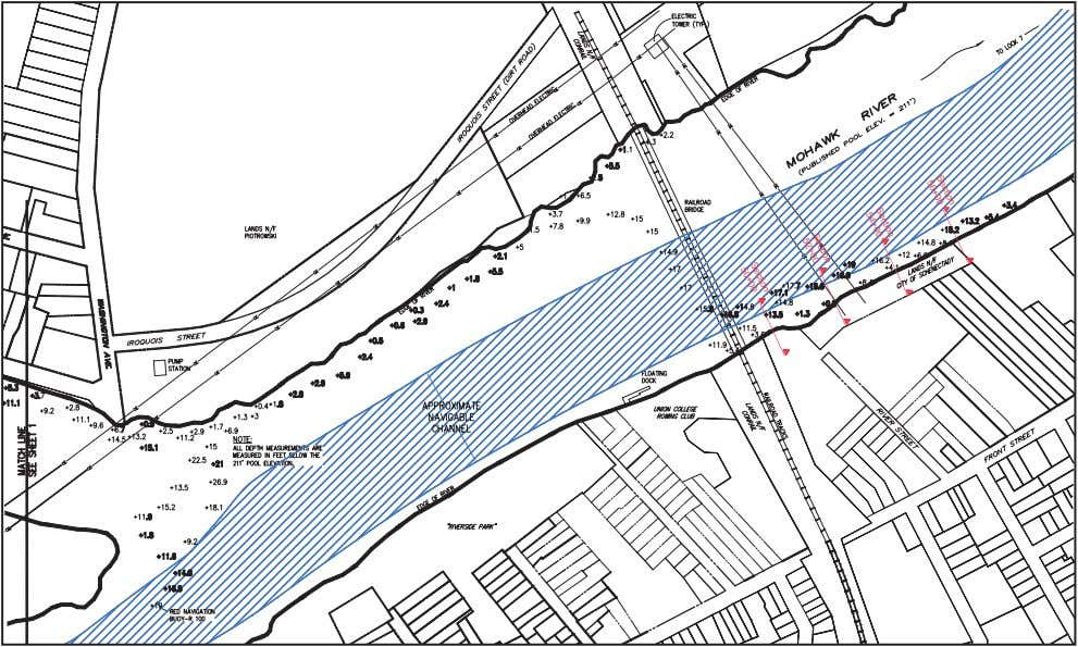 Section 4: Existing Conditions 39 gable river channel is mapped by the New York State Canal