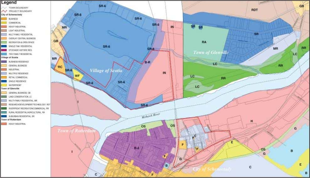 42 Schenectady-Scotia Waterfront Market and Feasibility Study Figure 4f. Land use. Figure 4g. Zoning.