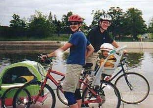 which are discussed in a later section of this report. Figure 4j. Bike-hike trails. Bicyclists on