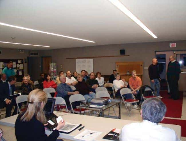 56 City of Schenectady and Village of Scotia Final public meeting in Scotia, November 11, 2004.