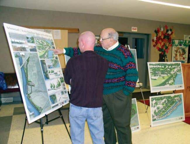 and feedback from solicited from these residents and Final public meeting in Scotia, November 11, 2004.