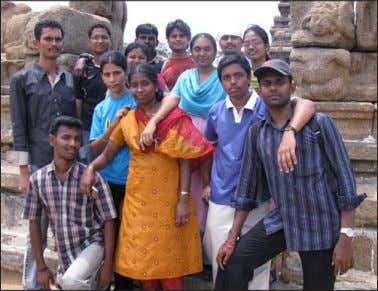 Ganesarajah of Birlasoft has nominated his batchmates as Partners in Crime. This pic was clicked